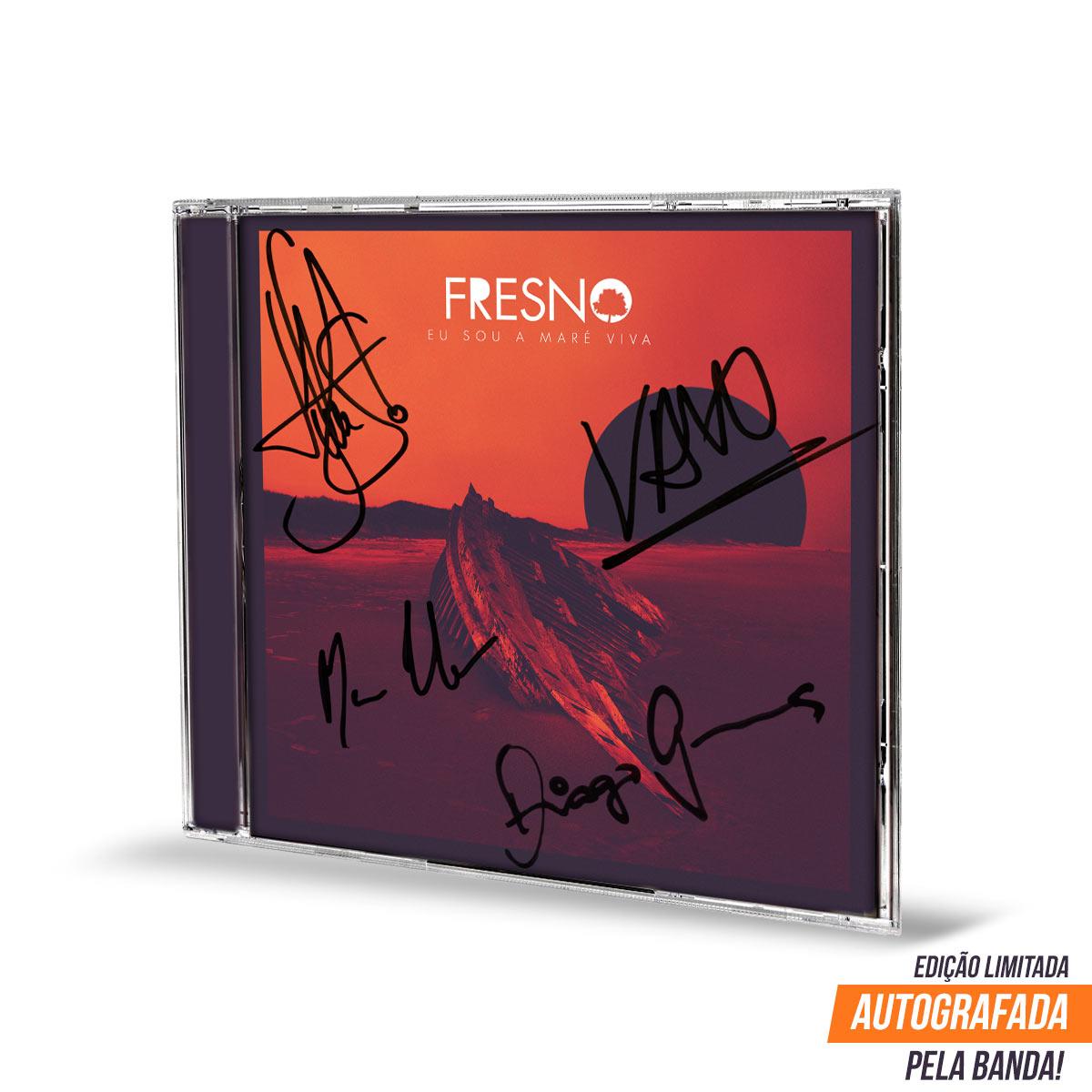EP Autografado Fresno Eu Sou A Maré Viva