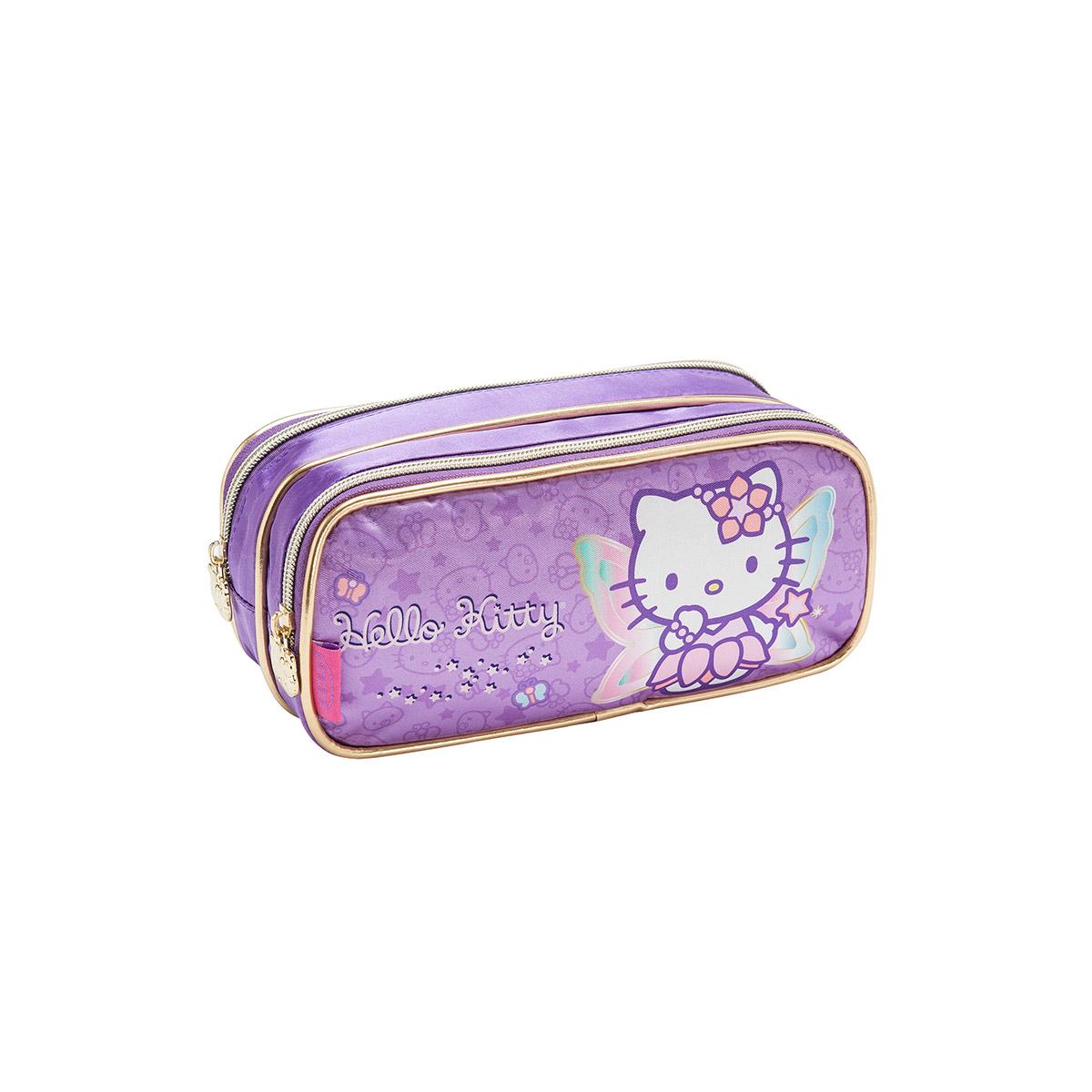 Estojo com Dois Compartimentos Hello Kitty Fada 924G14