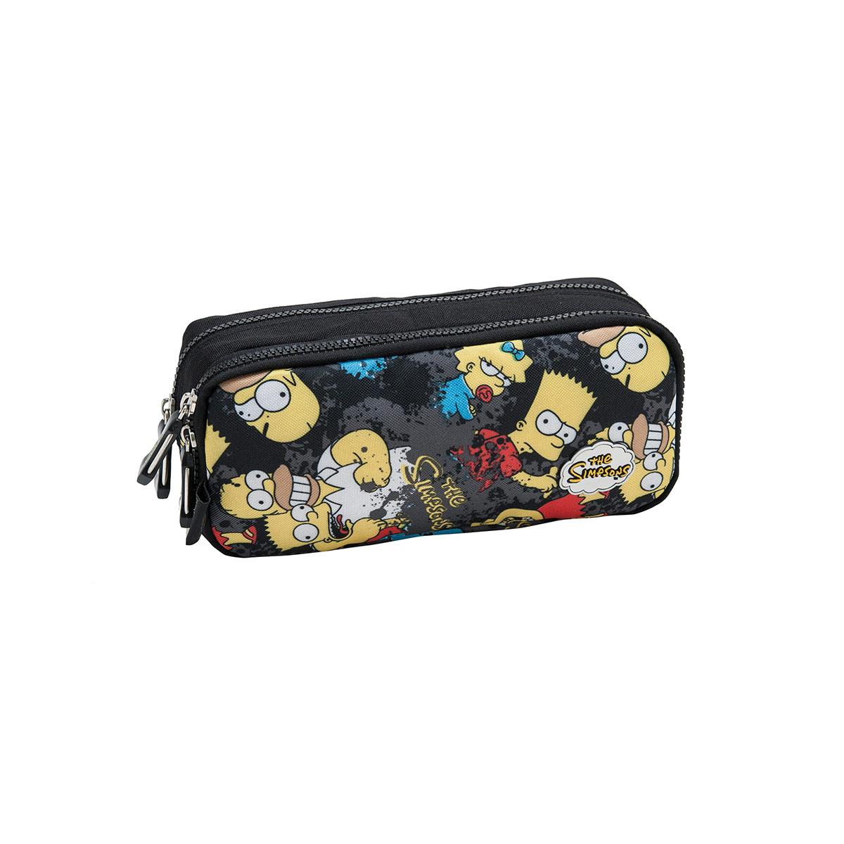 Estojo com Dois Compartimentos The Simpsons Splash 740104