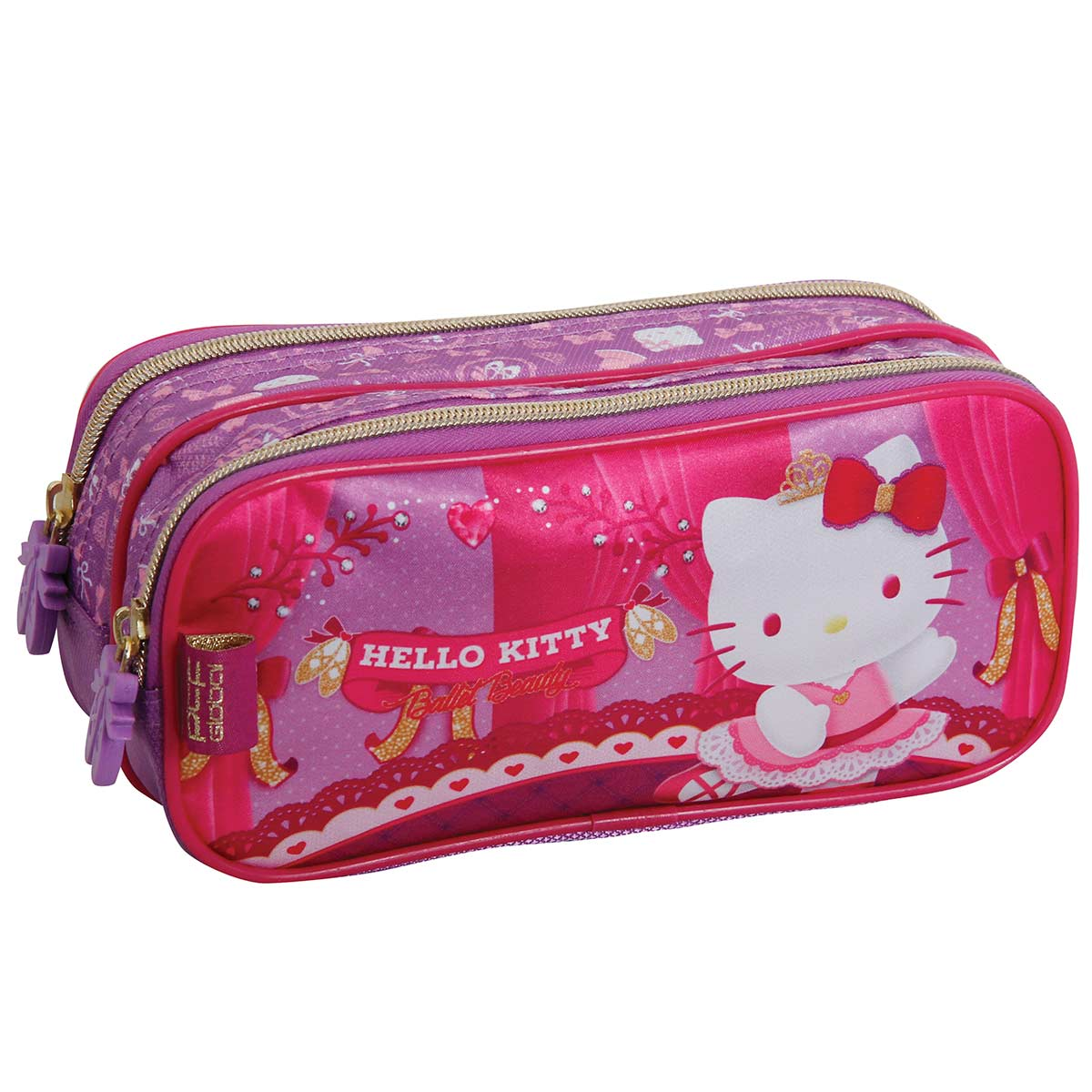 Estojo Duplo Hello Kitty Ballet