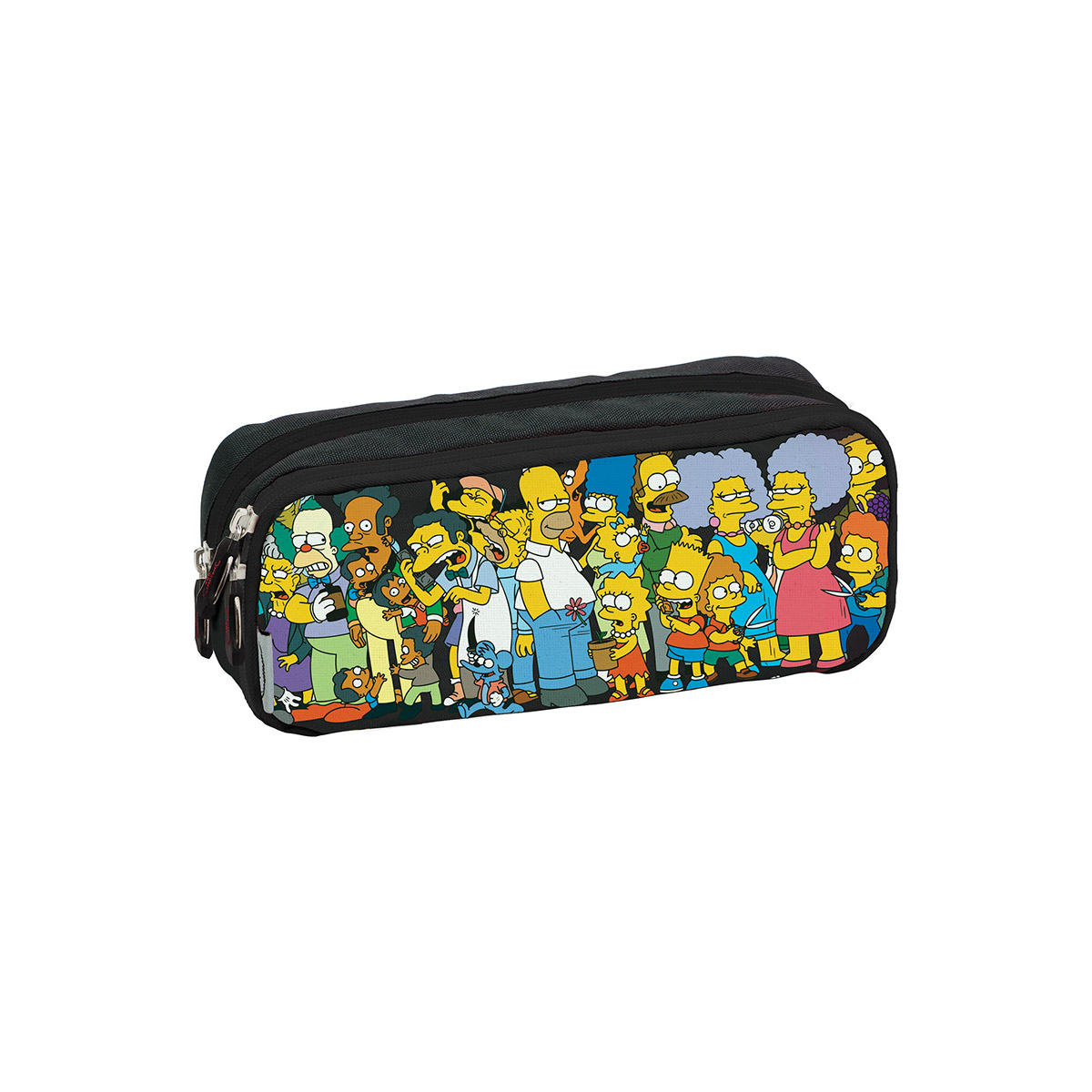 Estojo Duplo The Simpsons Springfield 740054