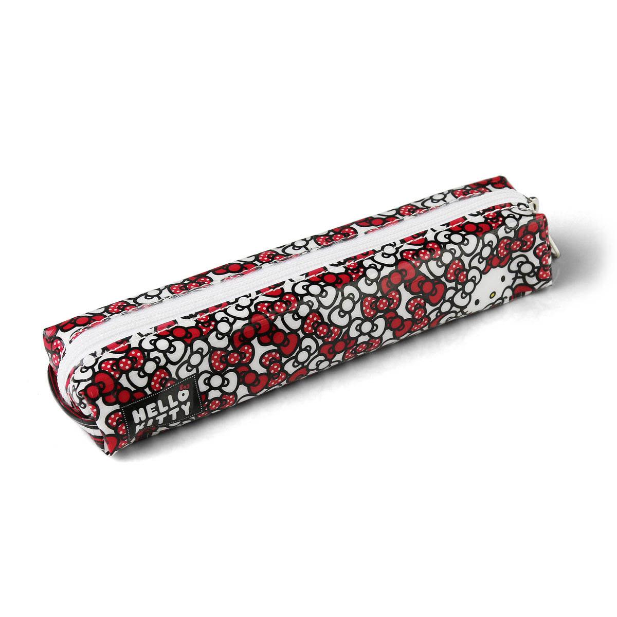 Estojo Simples Hello Kitty Red Ties