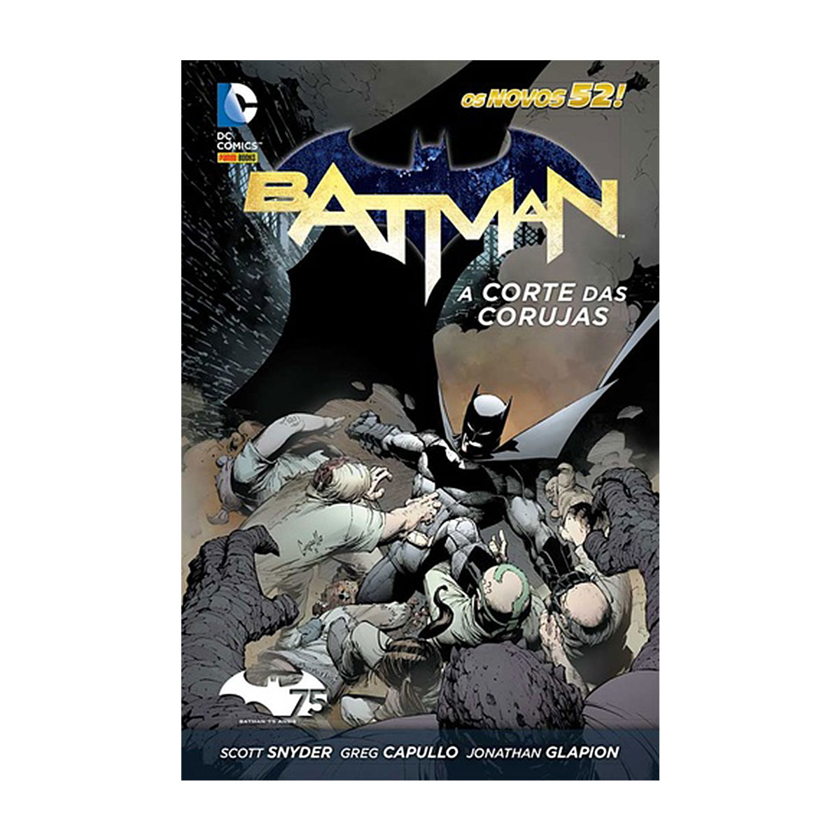 Graphic Novel Batman A Corte das Corujas