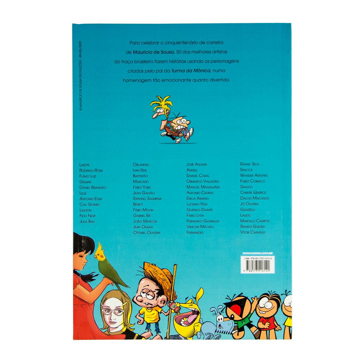 Graphic Novel MSP 50 Artistas