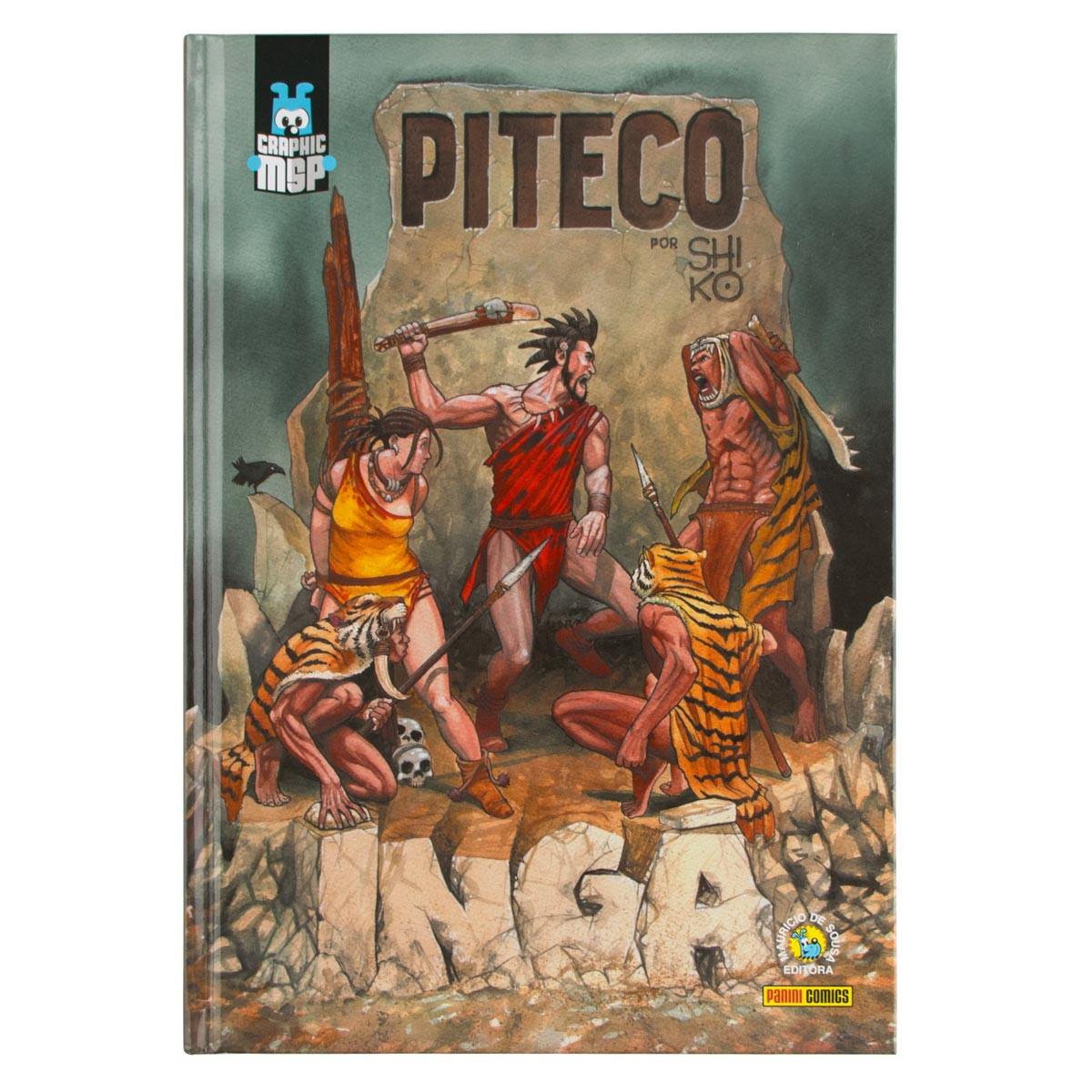 Graphic Novel Turma da Mônica Piteco