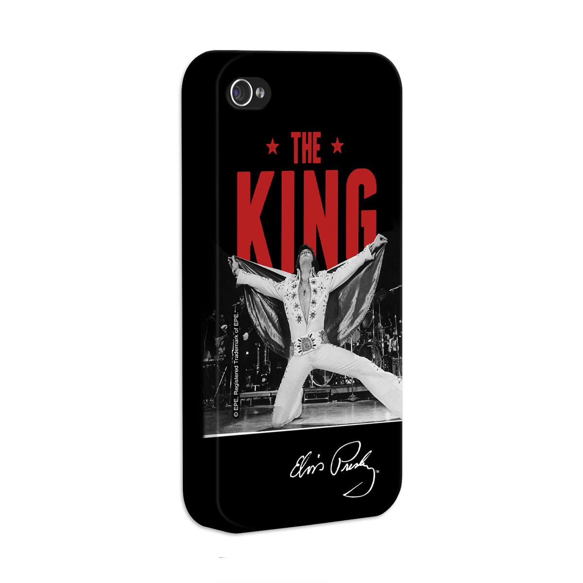 Kit Com 3 Capas de iPhone 4/4S Elvis Presley The King