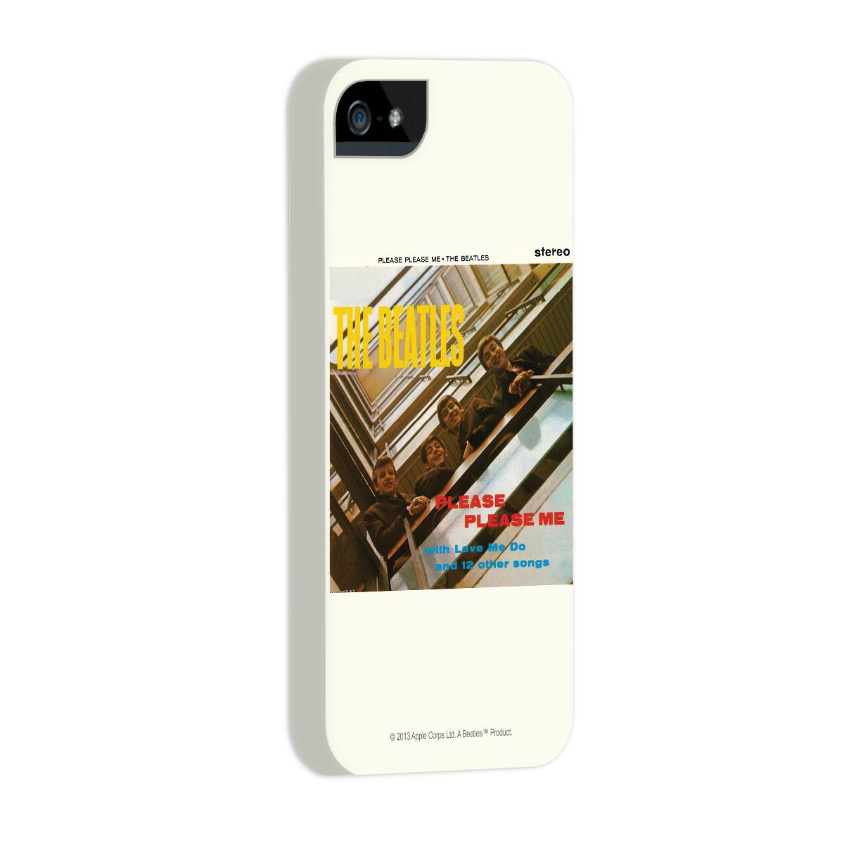 Kit Com 3 Capas de iPhone 5/5S The Beatles Albums 60s