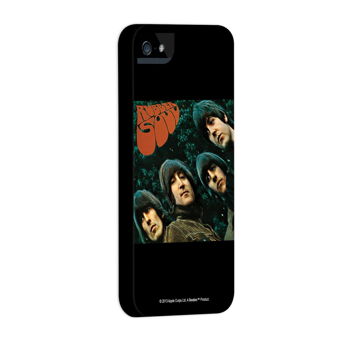 Kit Com 3 Capas de iPhone 5/5S The Beatles Albums 60s 2