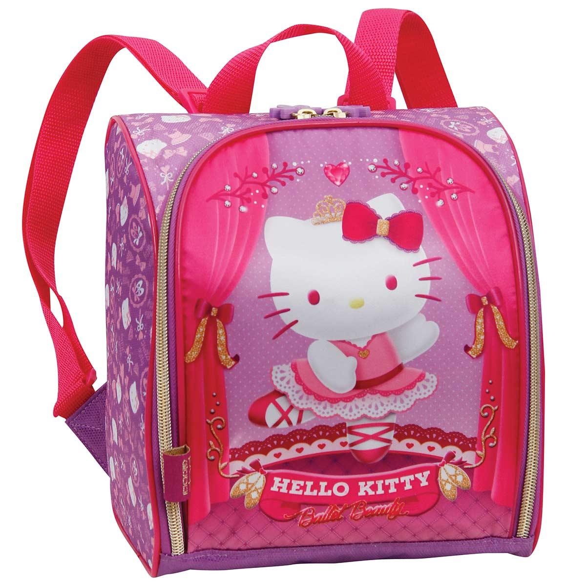 Lancheira com Acessórios Hello Kitty Ballet