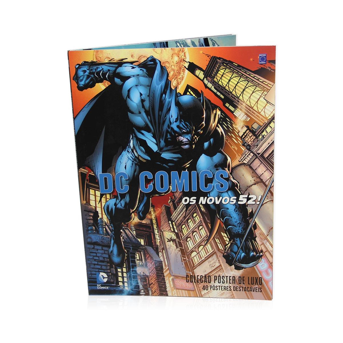 Livro Coleção Pôster Luxo DC Comics Os Novos 52!