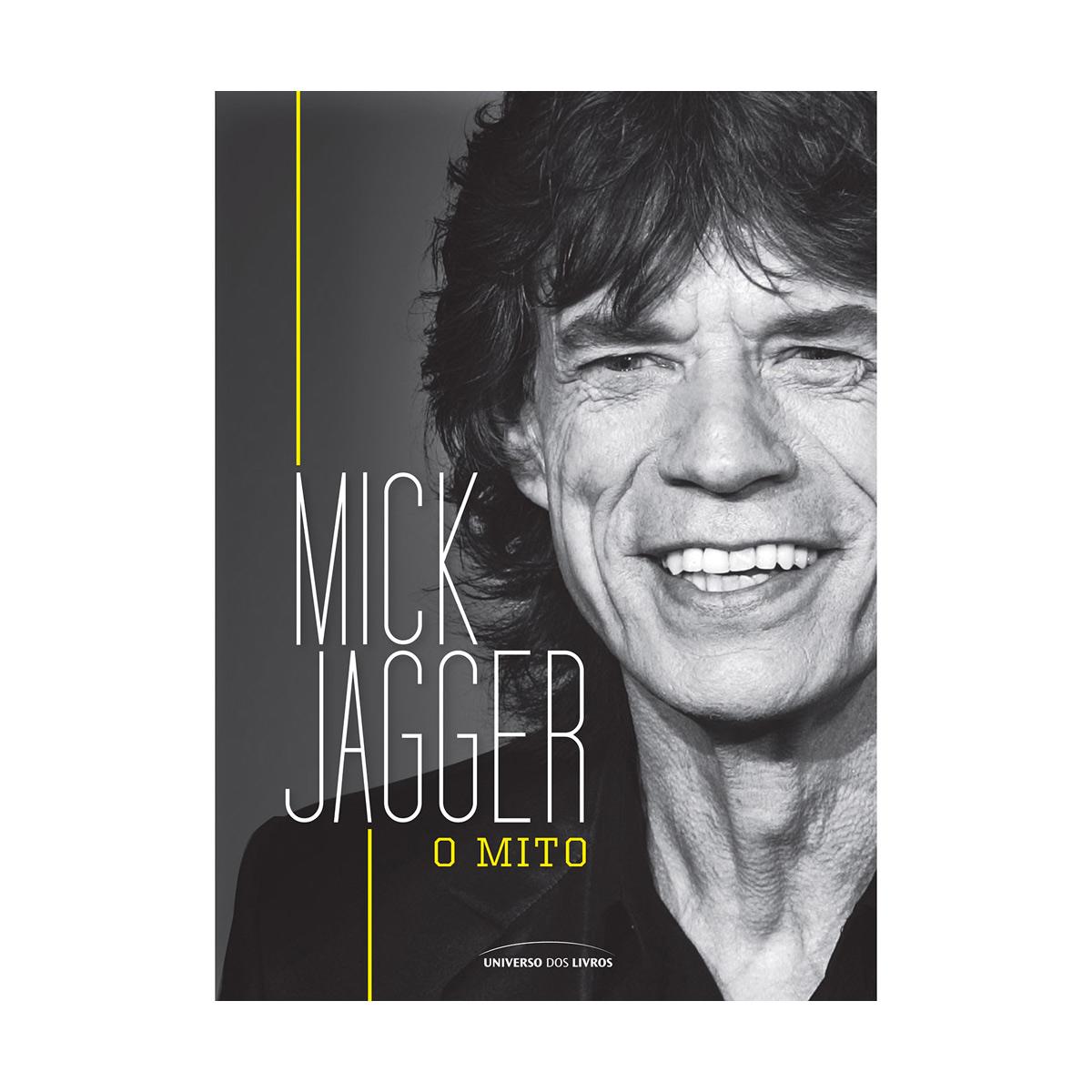 Livro Mick Jagger O Mito