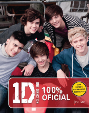 Livro One Direction 100% Oficial