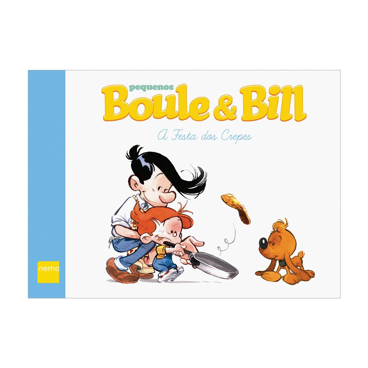 Livro Pequenos Boule & Bill A Festa dos Crepes