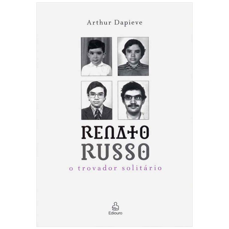 Livro Renato Russo O Trovador Solitário