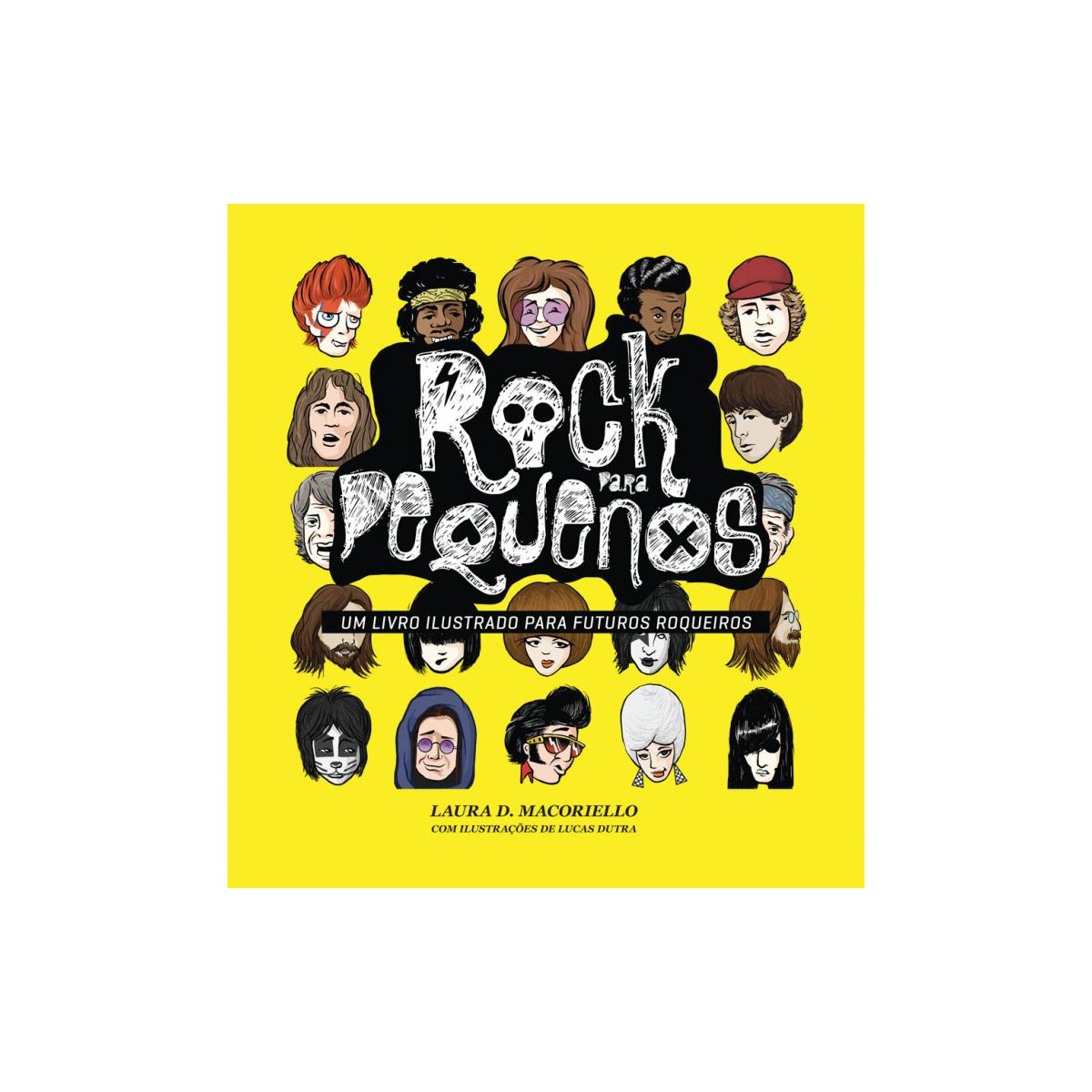 Livro Rock Para Pequenos Vol.1