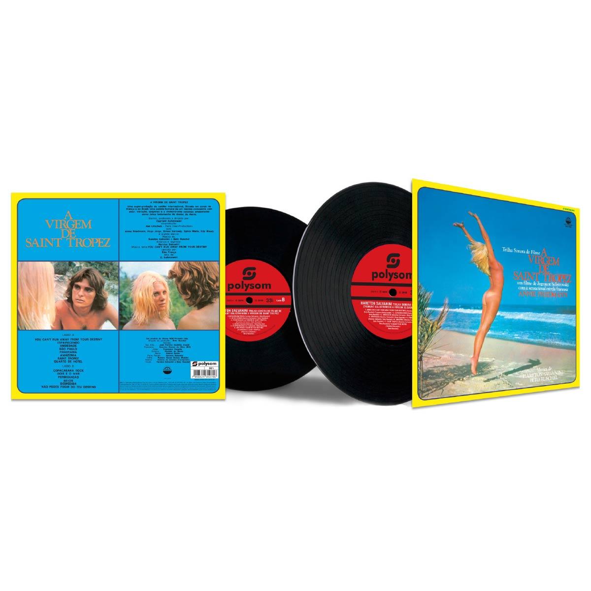 LP Hareton Salvanini Trilha Sonora de 'A Virgem de Saint Tropez'