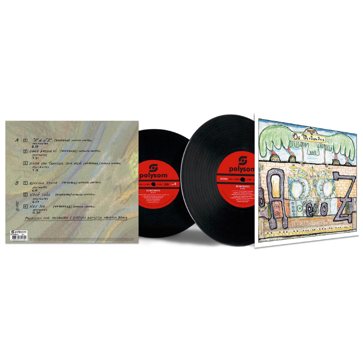LP Os Mutantes 'A' e o 'Z'