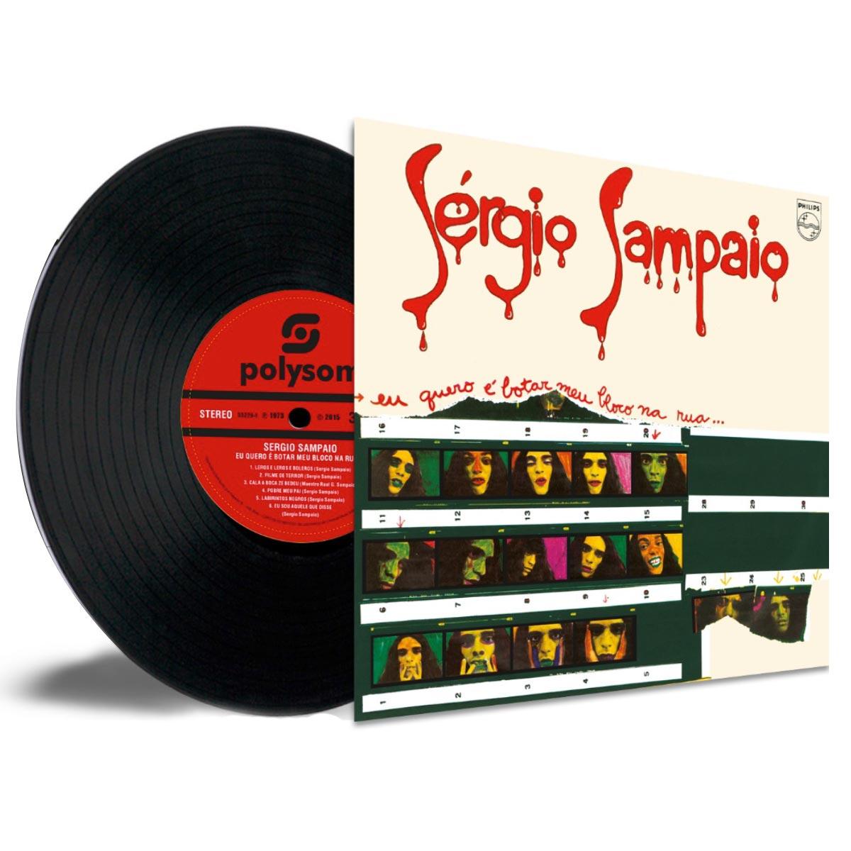 LP Sérgio Sampaio Eu Quero é Botar Meu Bloco na Rua