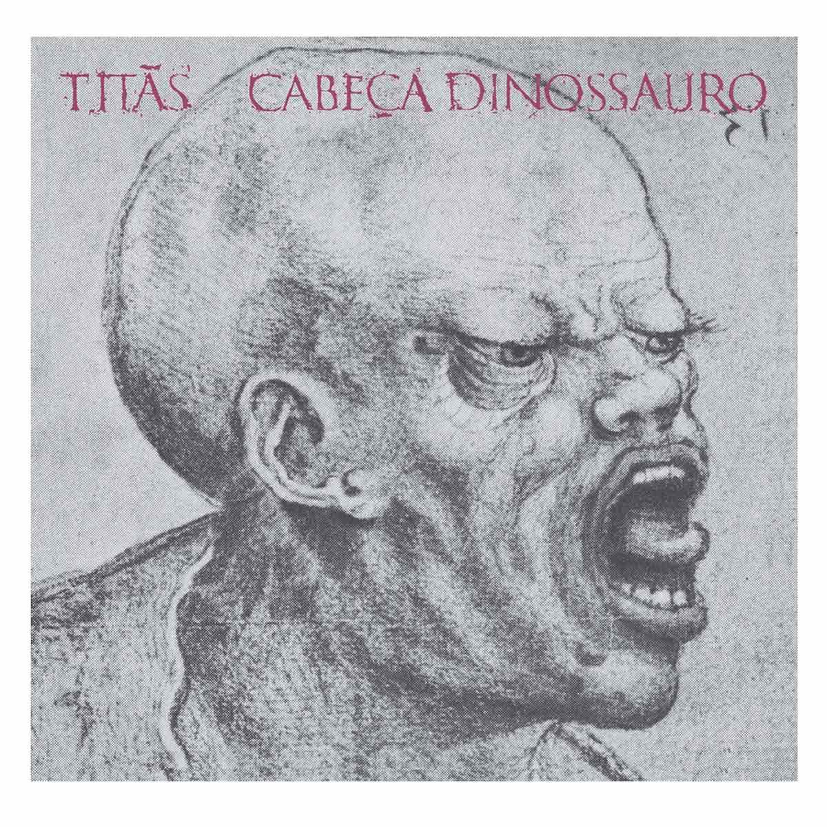 LP Titãs Cabeça Dinossauro