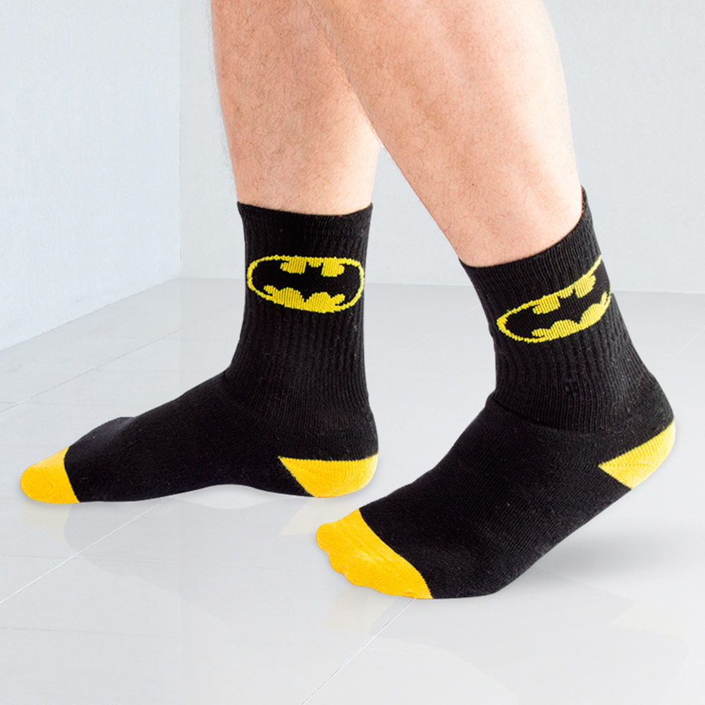 Meia Batman Logo
