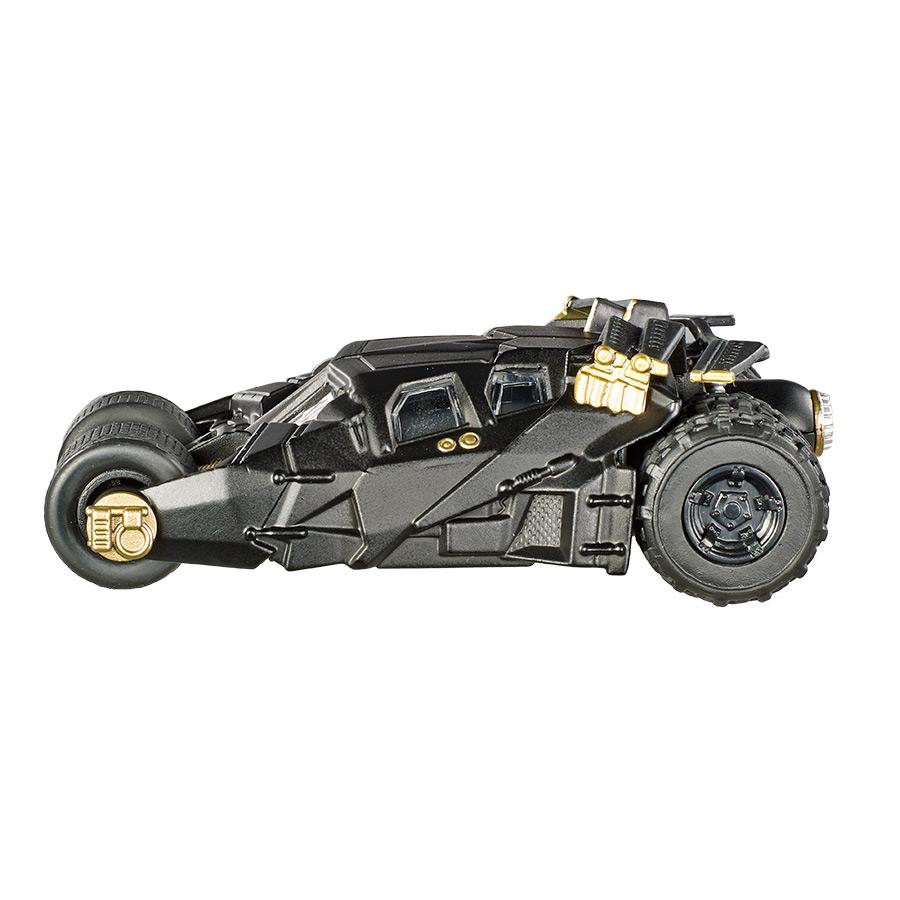 Miniatura Batmóvel The Dark Knight Trilogy Hot Wheels Elite One 1:50
