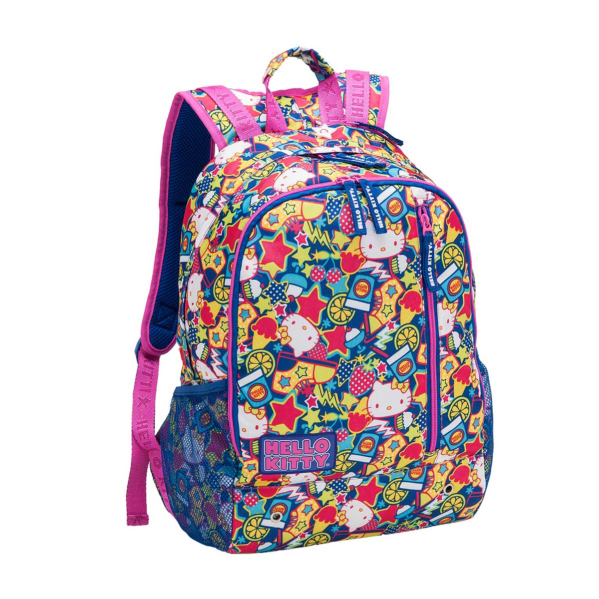 Mochila Grande Hello Kitty New Wave 724171