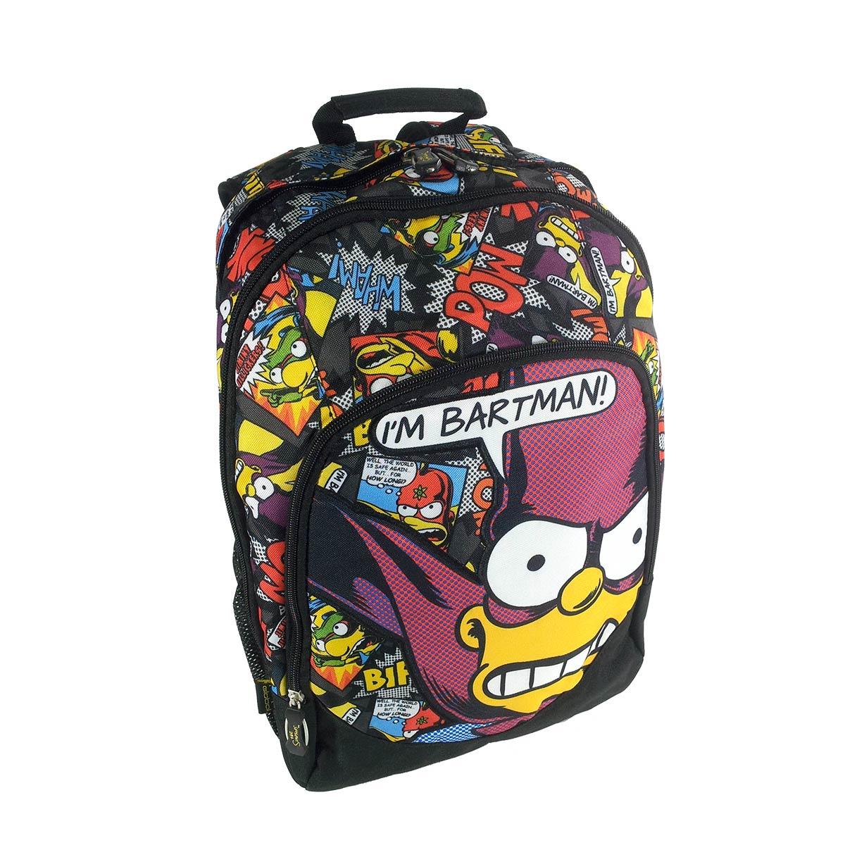 Mochila Grande The Simpsons Heróis 740061