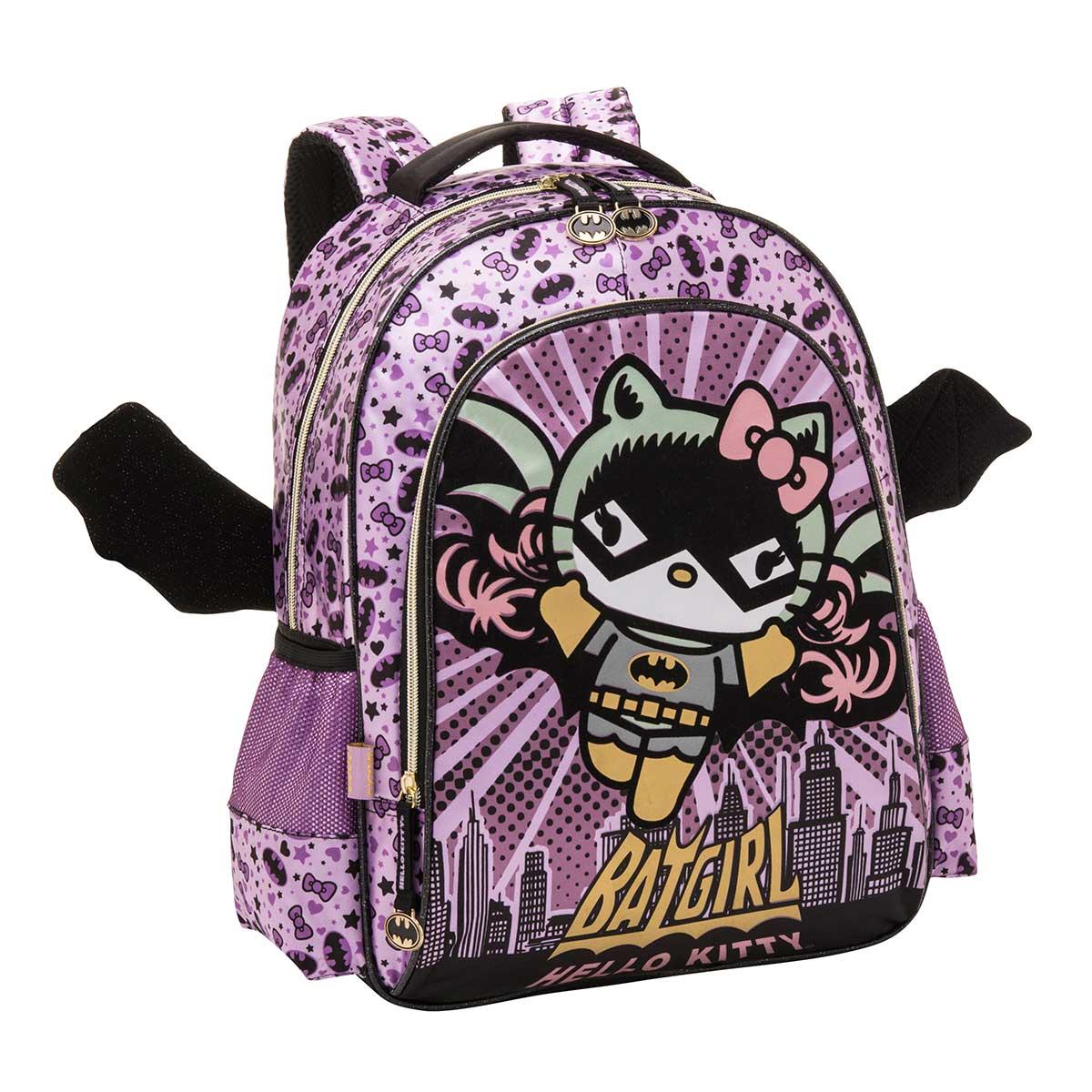Mochila Hello Kitty Batgirl