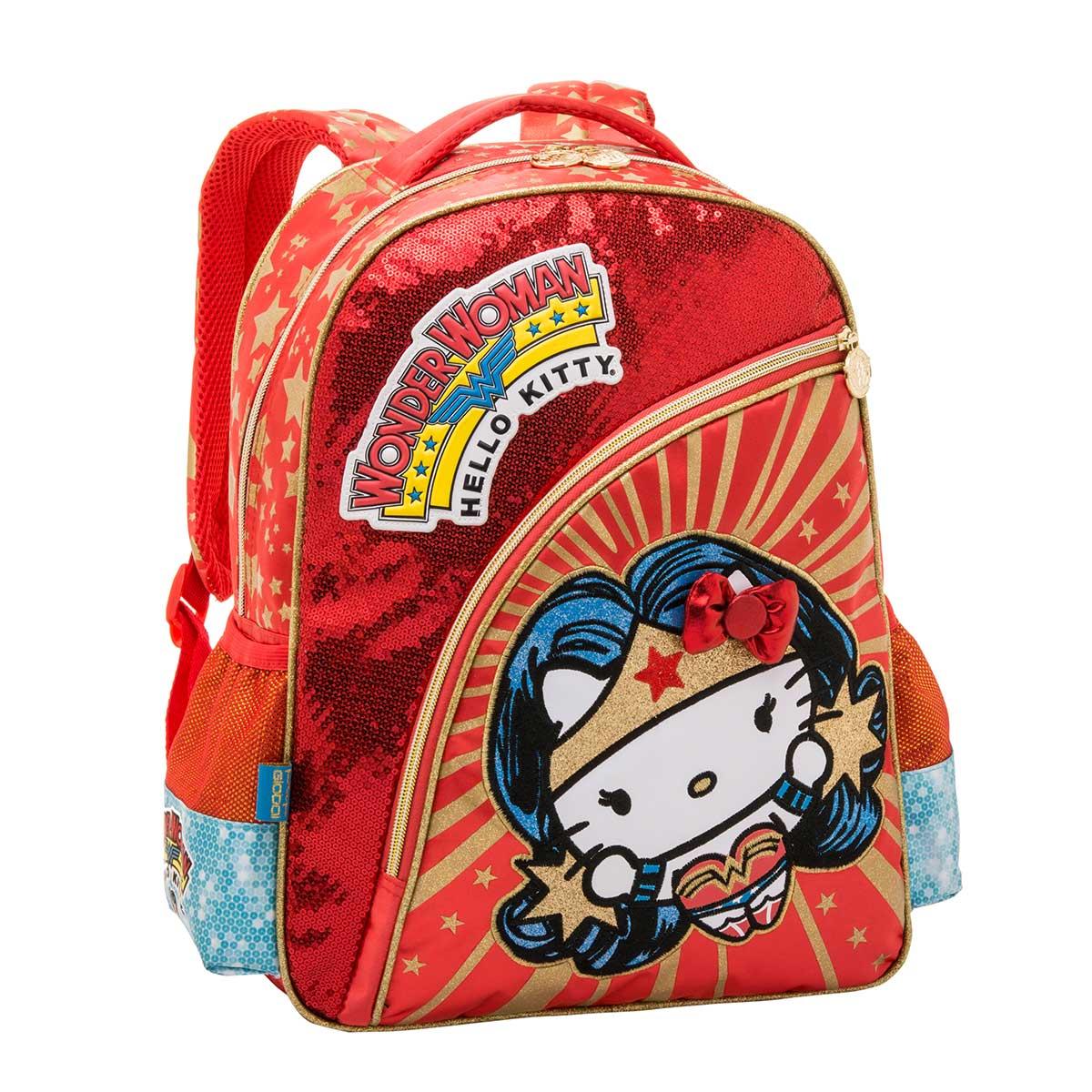 Mochila Hello Kitty Wonder Woman