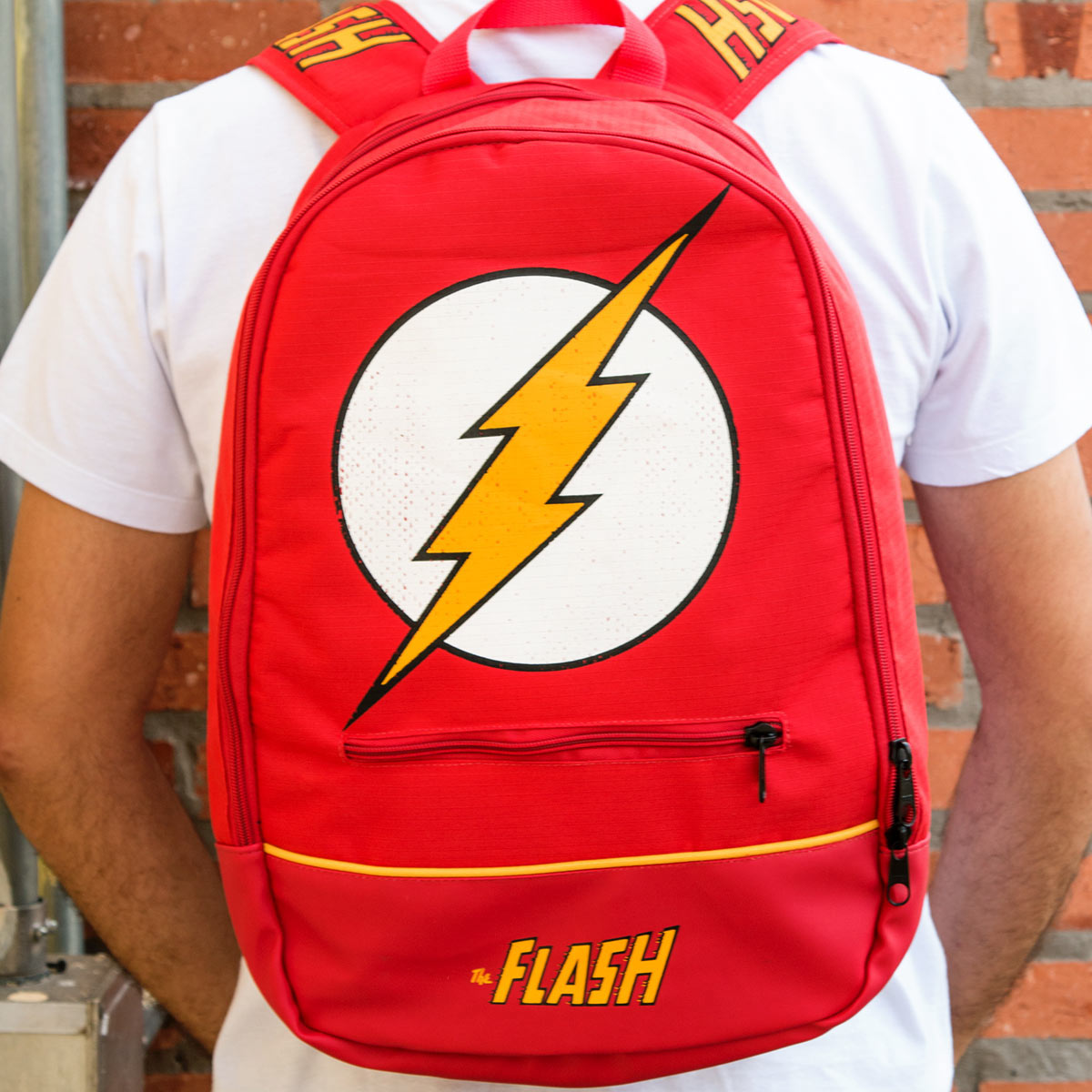 Mochila The Flash Logo