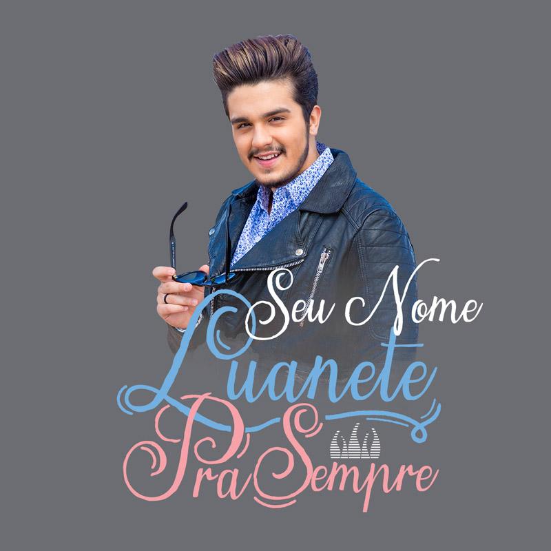 Moletinho Personalizado Luan Santana Luanetes