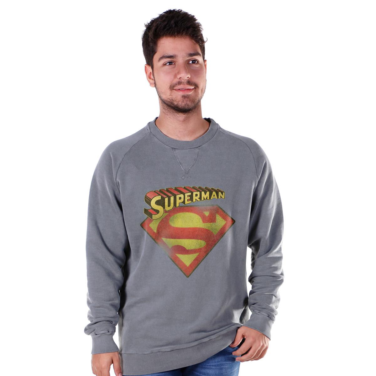 Moletinho Superman Classic Logo