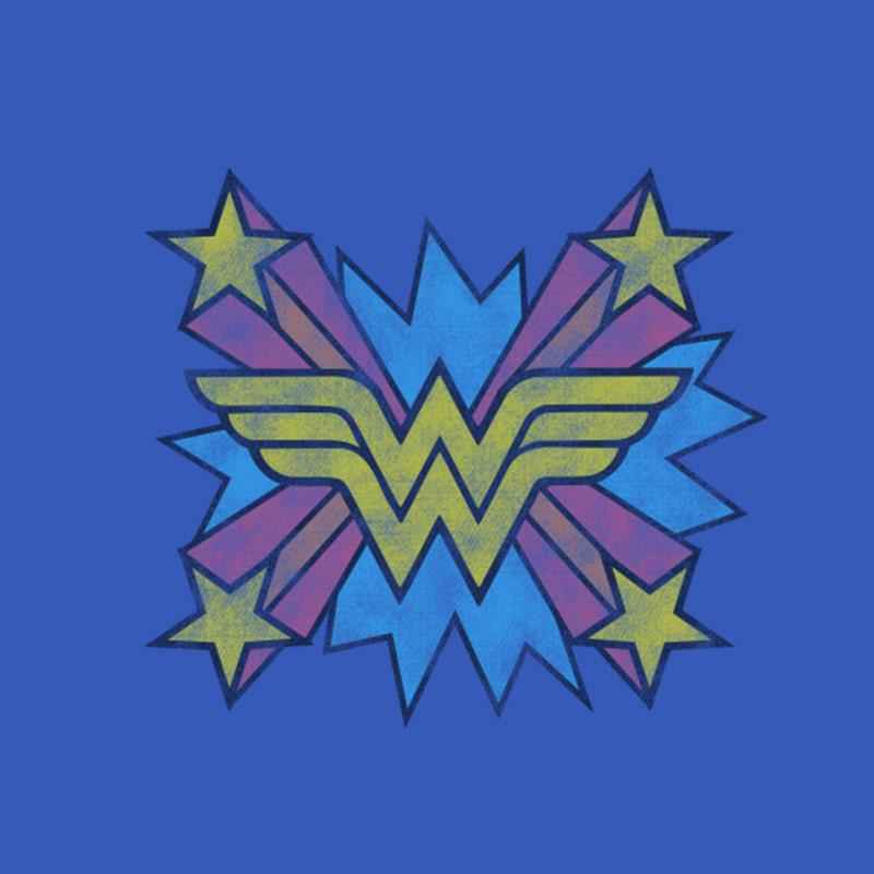 Moletinho Wonder Woman Logo Star