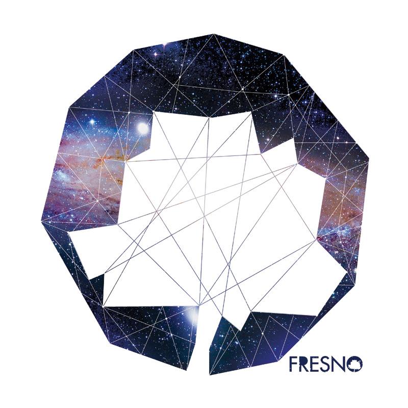 Moletom Com capuz Preto Fresno Logo Galáxias