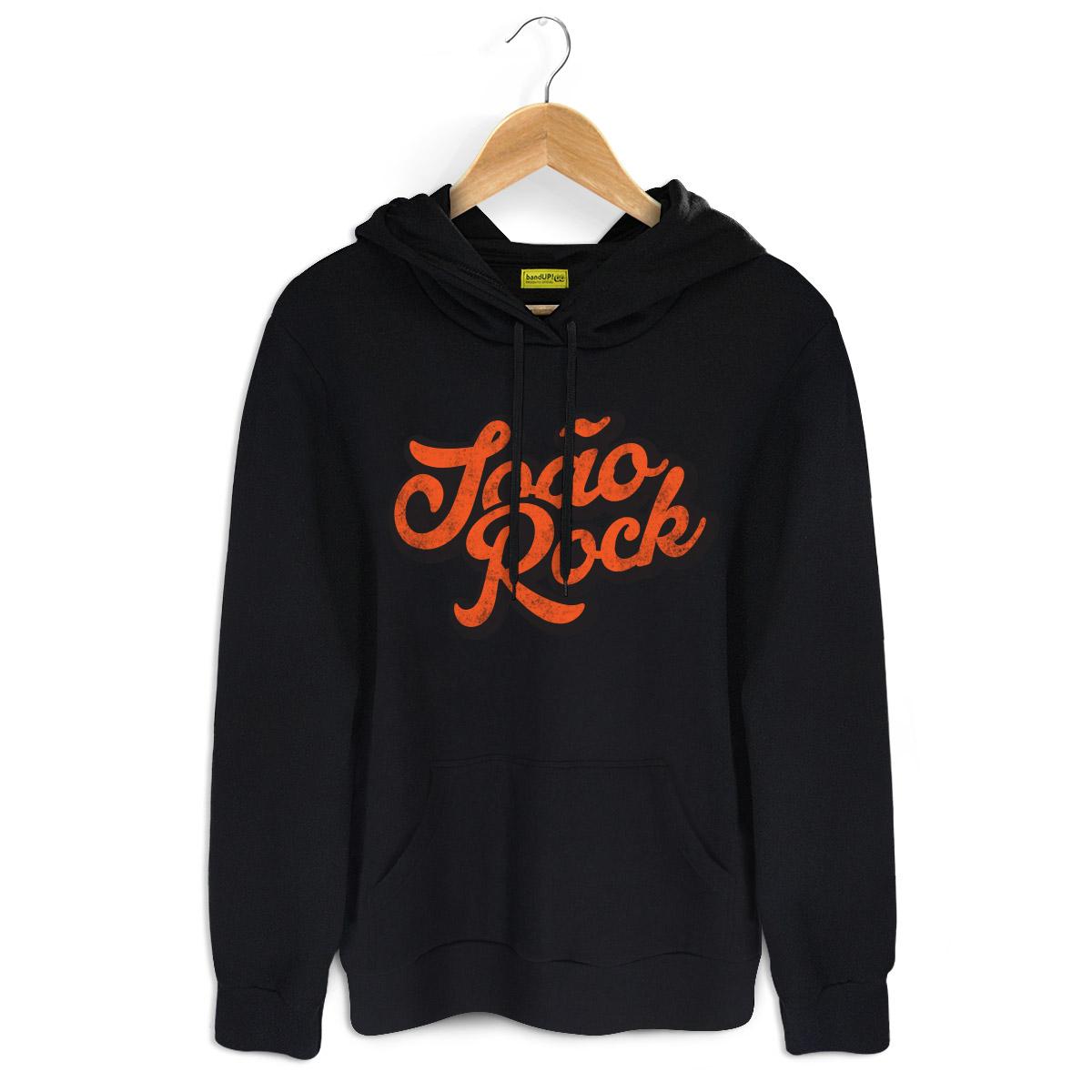 Moletom Preto João Rock Logo