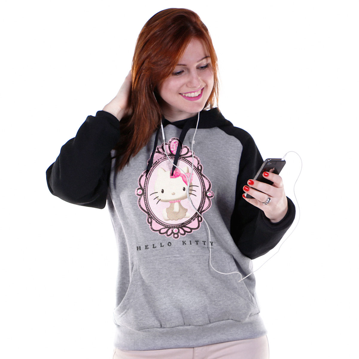 Moletom Raglan Hello Kitty Vintage