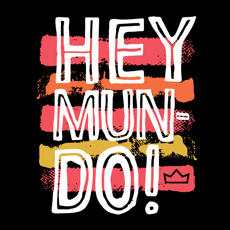 Moletom Thiaguinho Hey Mundo