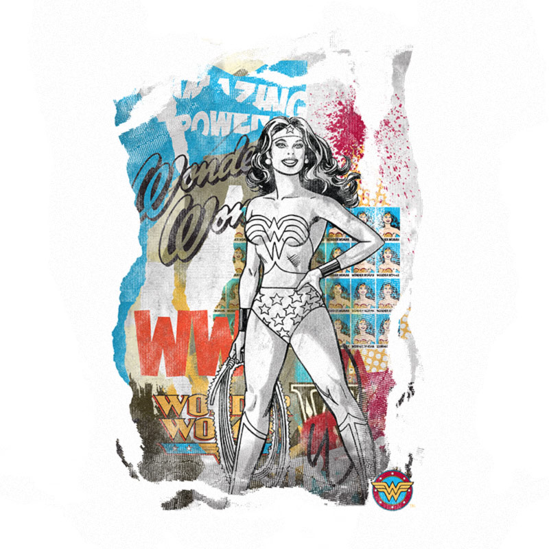 Moletom Wonder Woman Graffiti