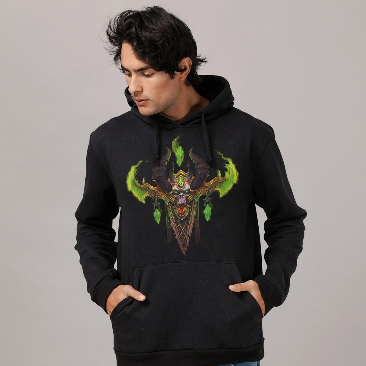 Moletom World of Warcraft Illidan Demon Hunter