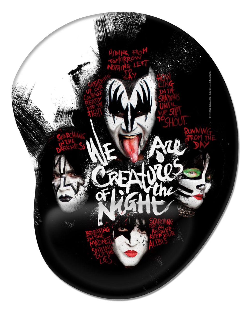 Mousepad Kiss Creatures Of The Night