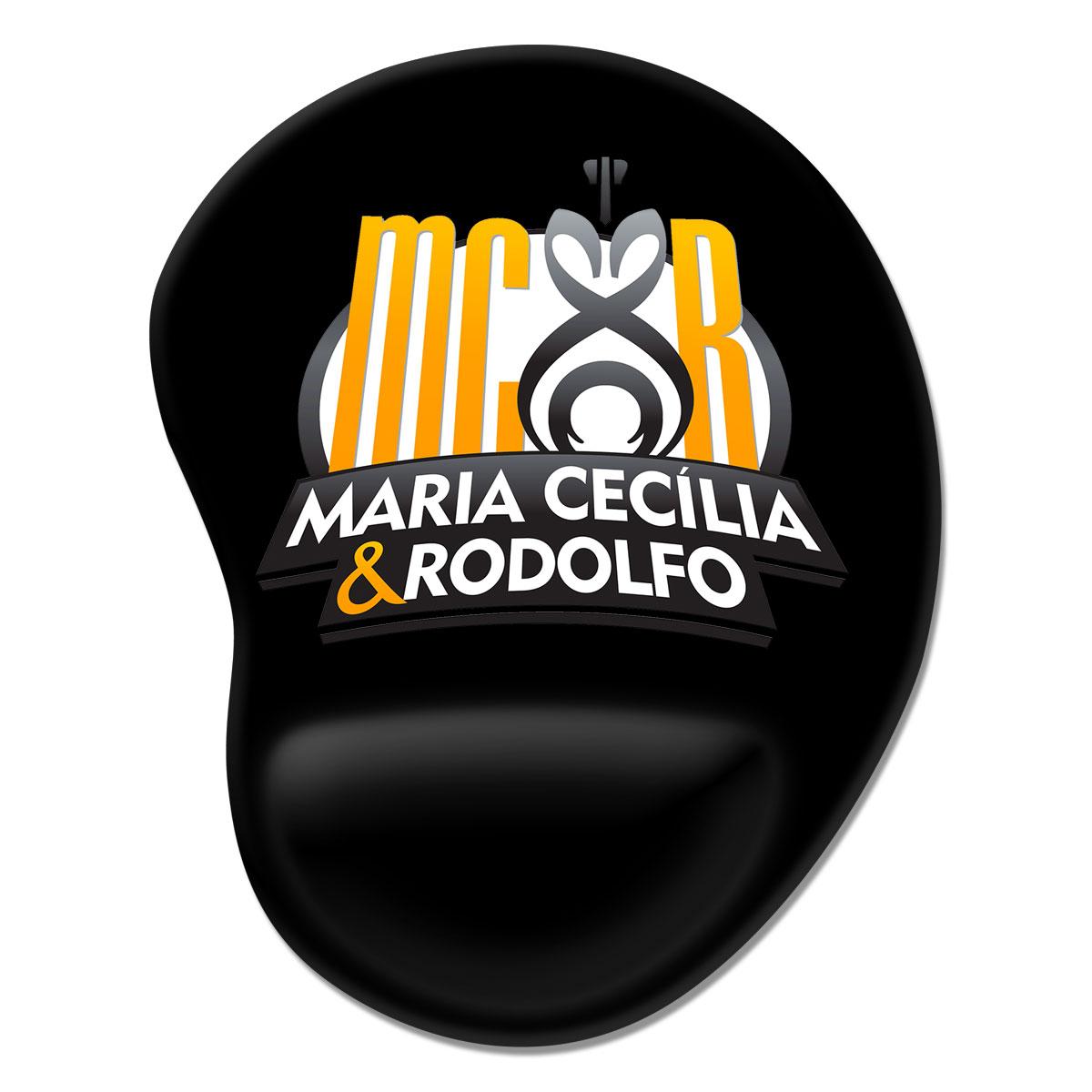 Mousepad Maria Cecília & Rodolfo Logo