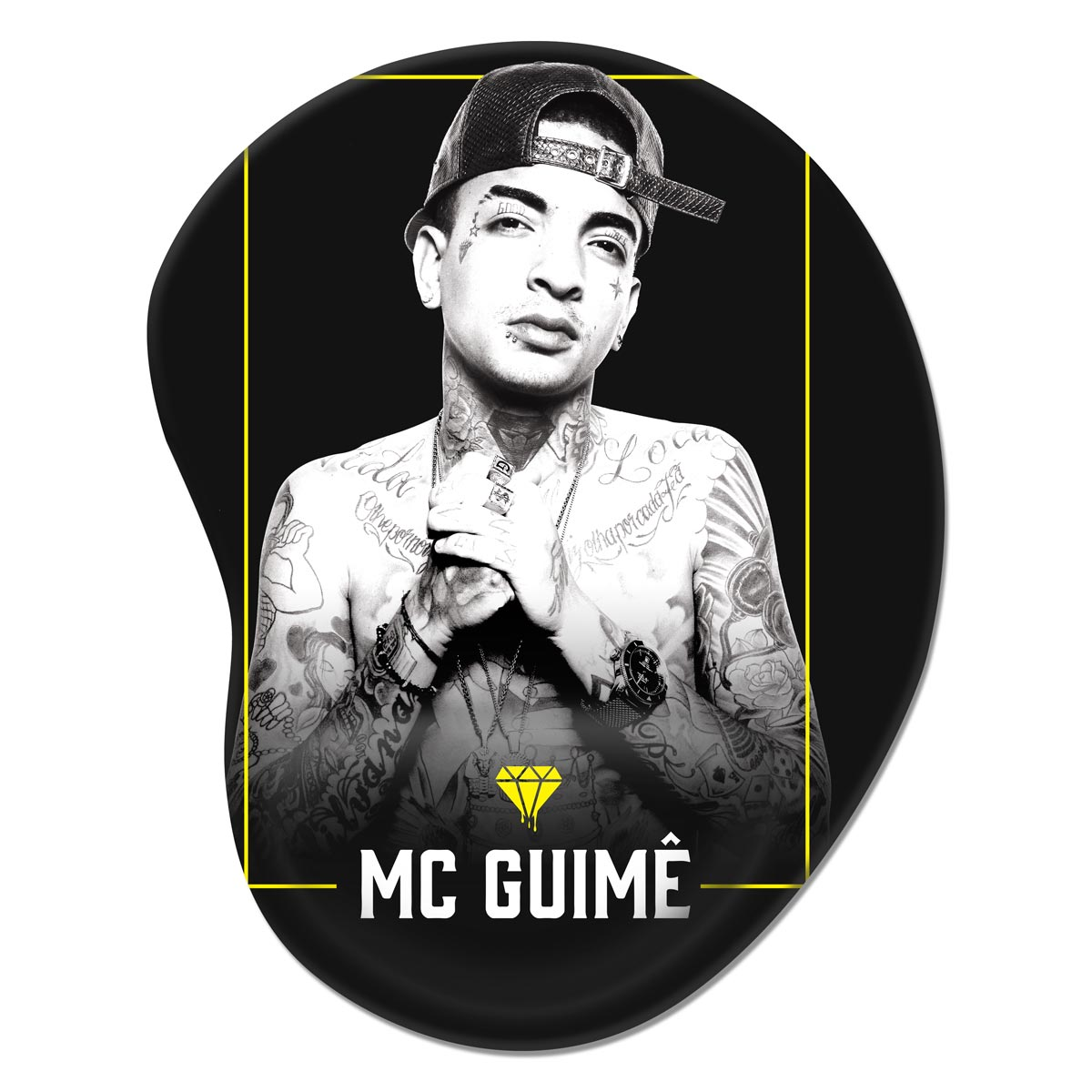 Mousepad MC Guimê Foto