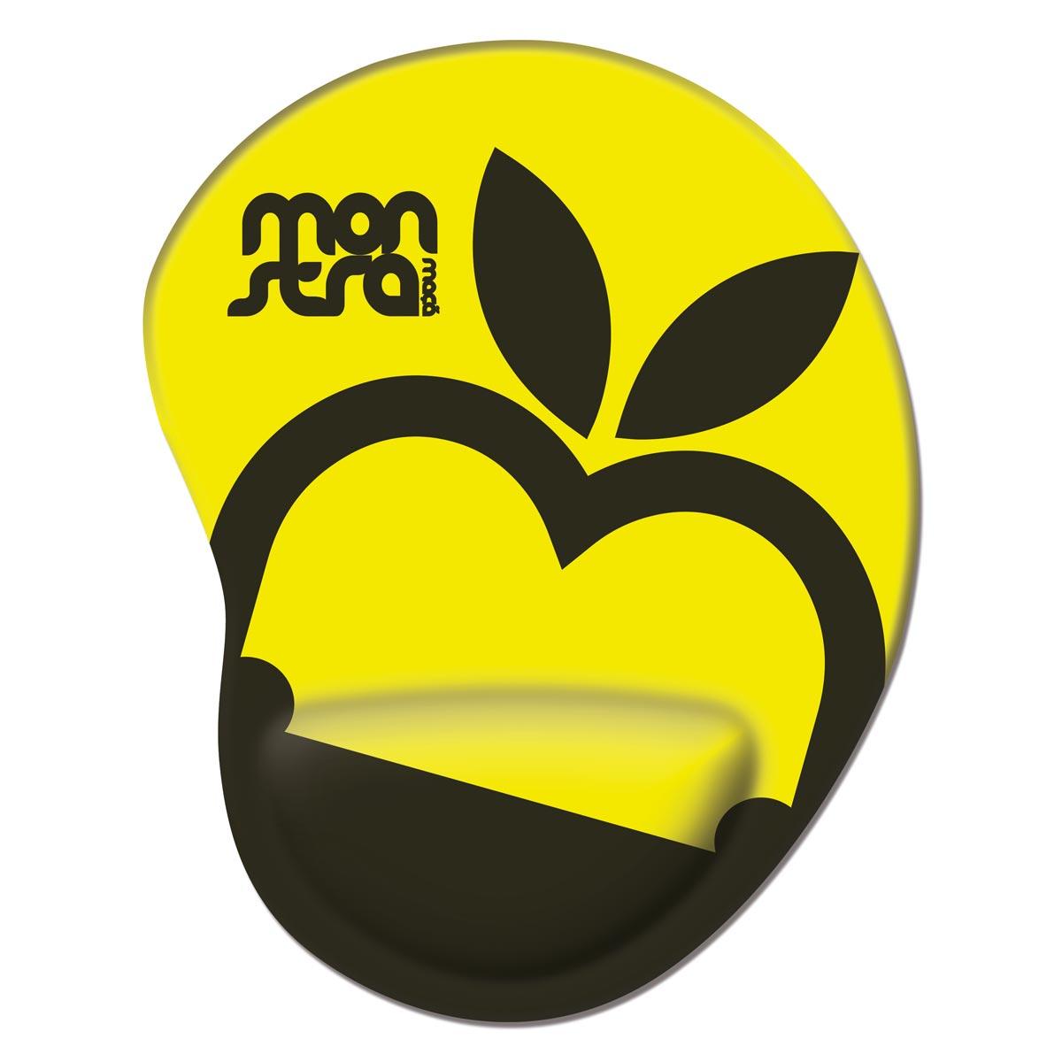 Mousepad Monstra Maçã Logo