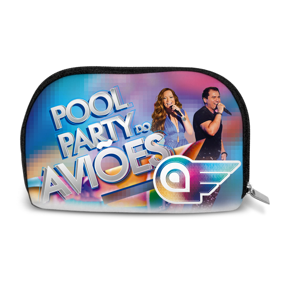 Necessaire Aviões do Forró Capa Pool Party