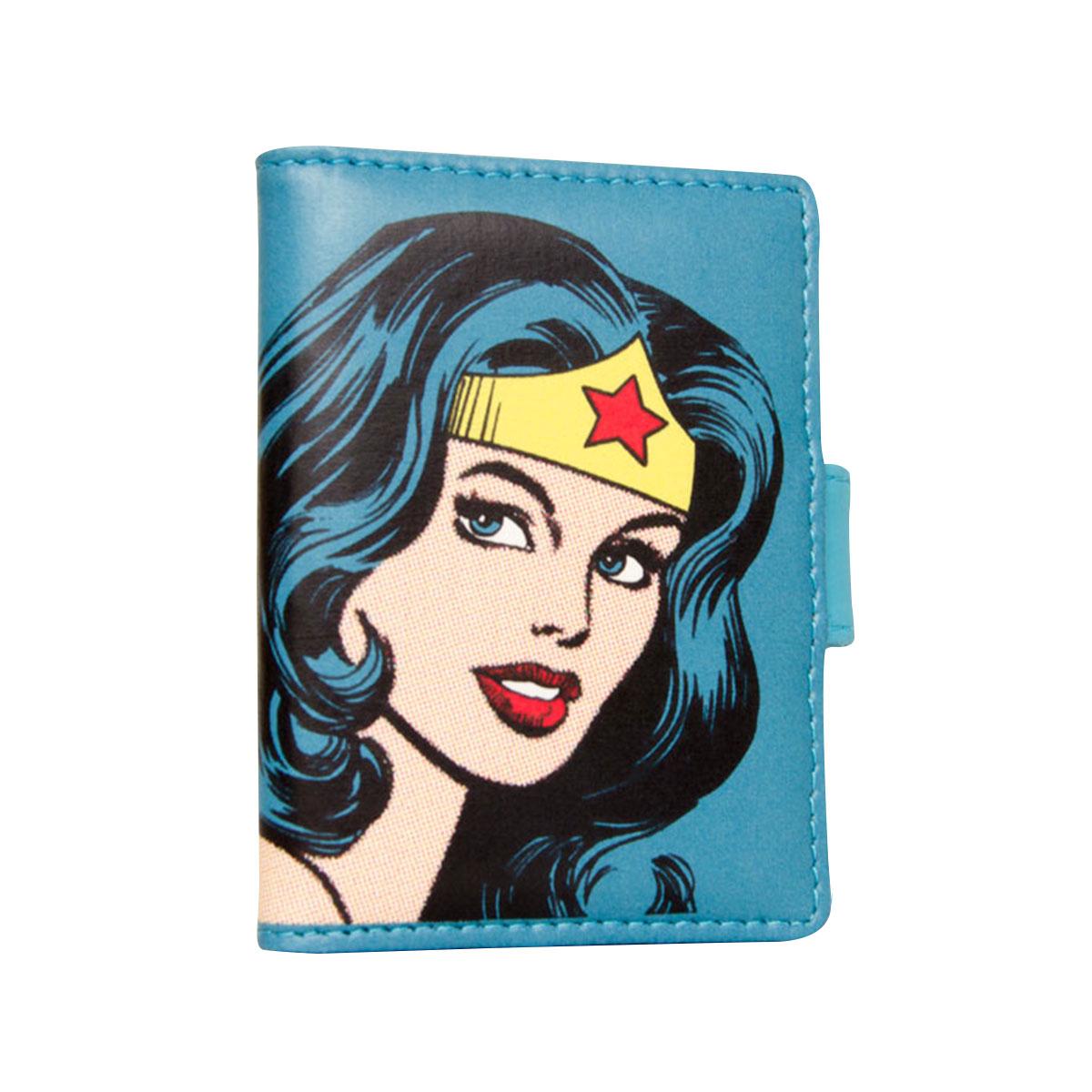 Porta Cartões Wonder Woman Face