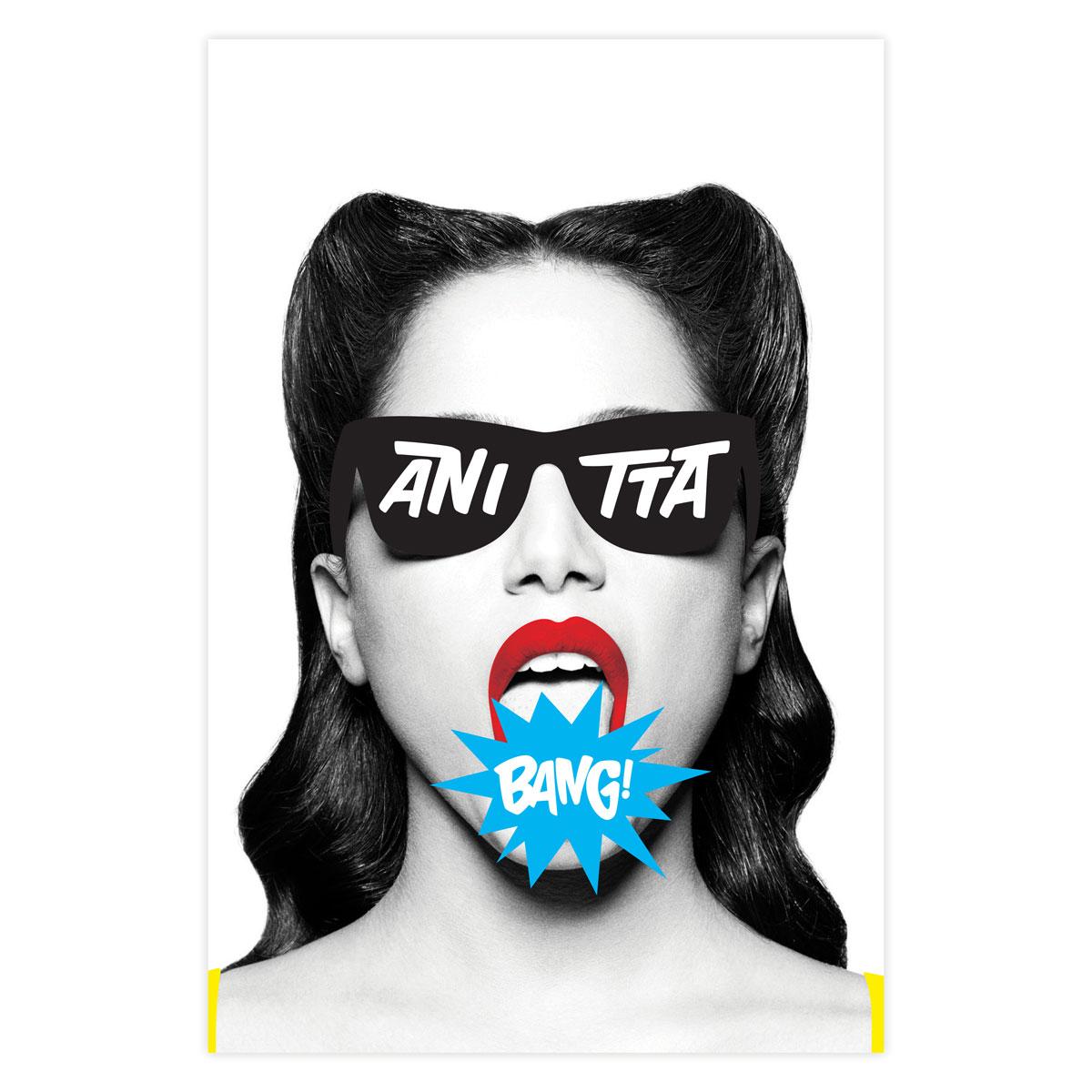 Pôster Anitta Bang!