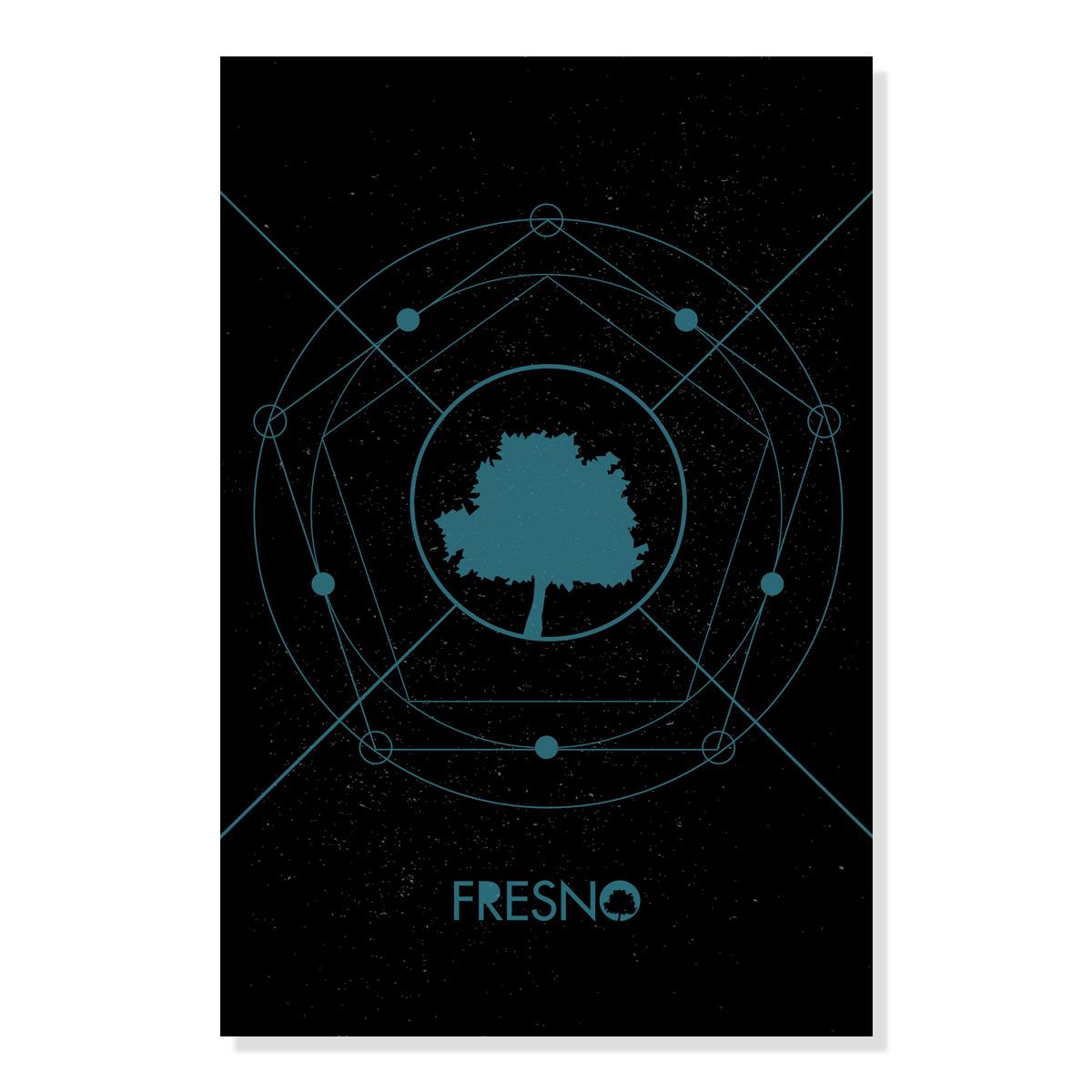 Pôster Fresno Diagrama