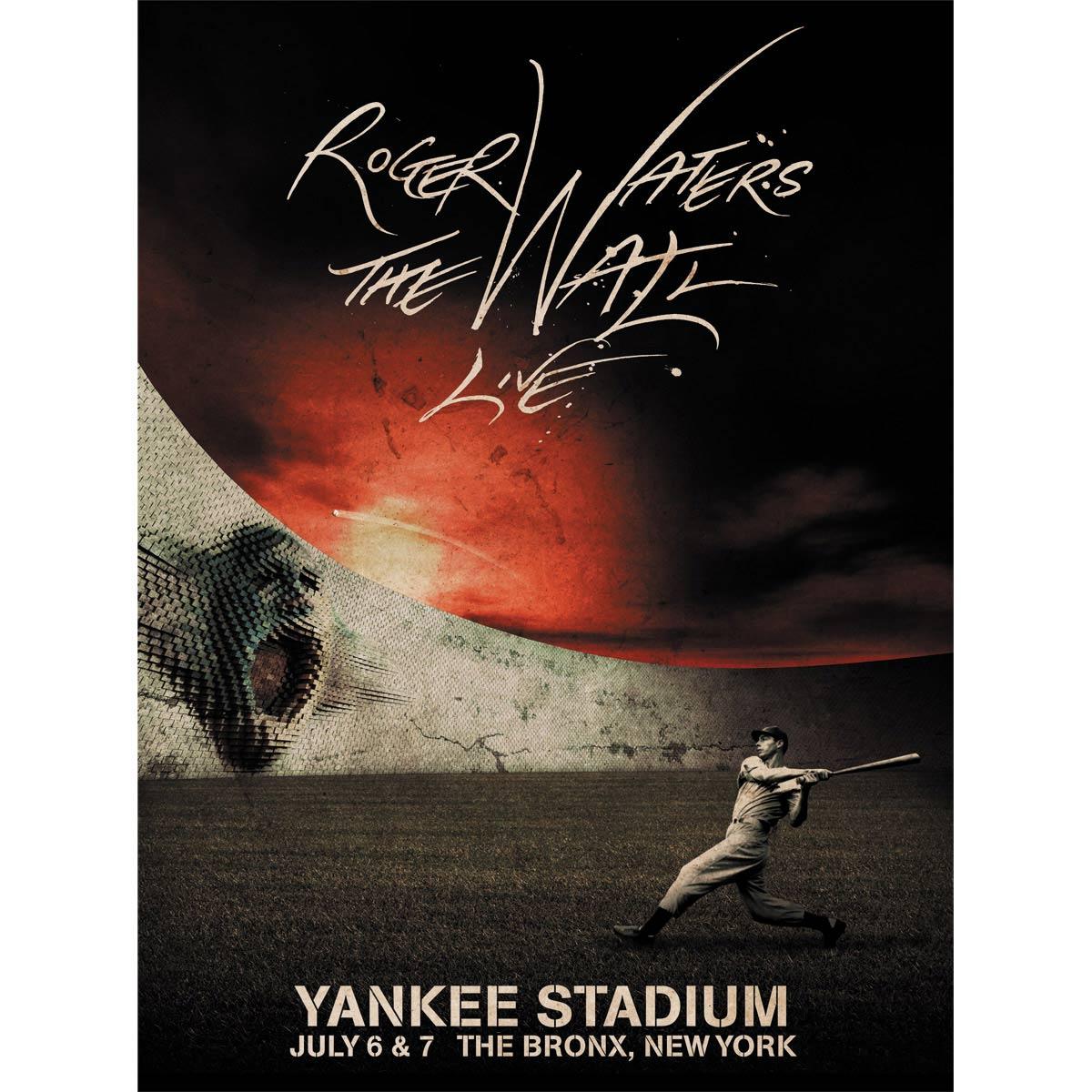 Pôster Roger Waters Yankee Stadium
