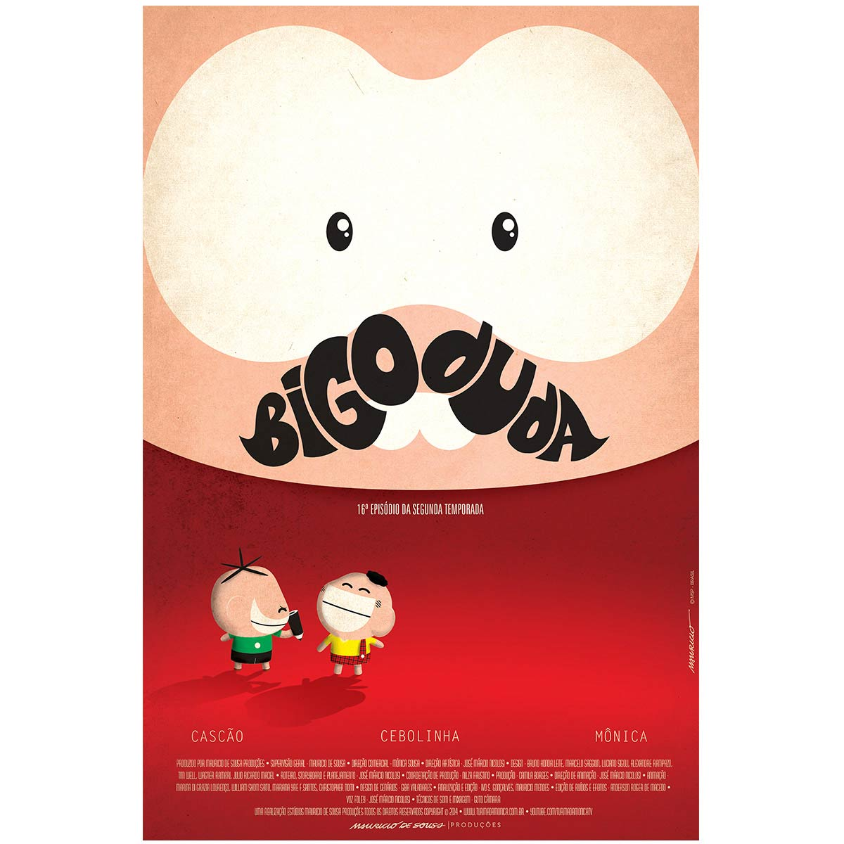 Poster Turma da Mônica Toy Bigoduda