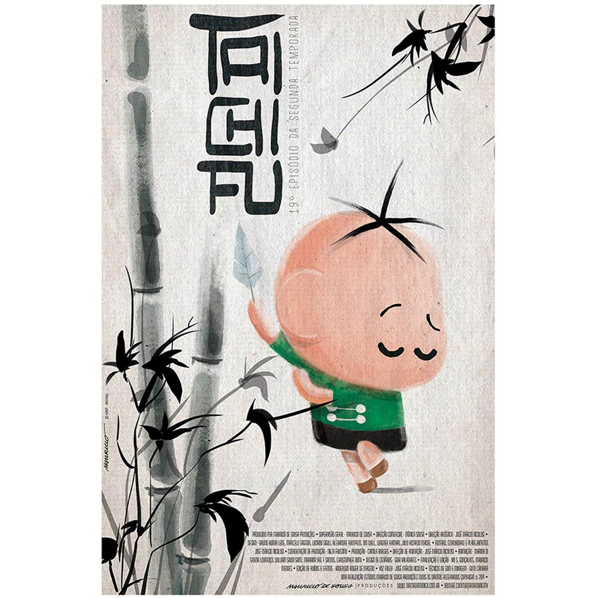 Poster Turma da Mônica Toy Cebolinha Tai Chi Fu